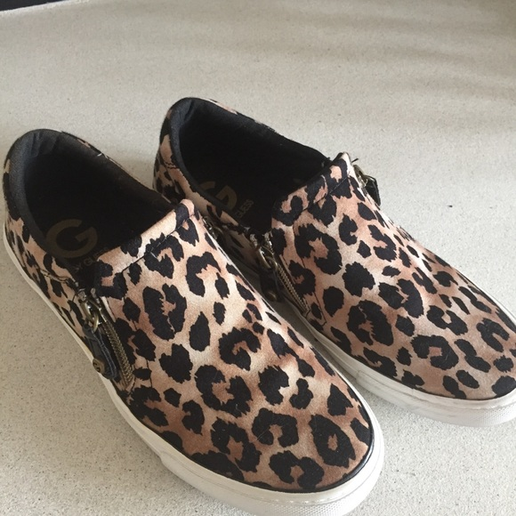 G by Guess Shoes | Guess Leopard Canvas
